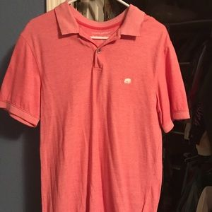 Banana Republic Coral Polo Shirt